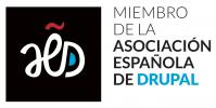 Logo Asociación Española de Drupal