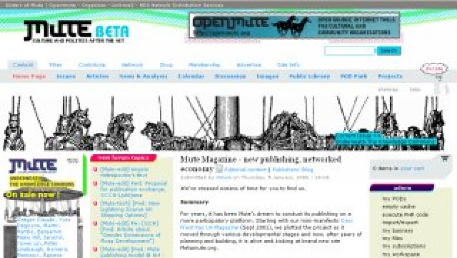 Metamute.org - Screenshot