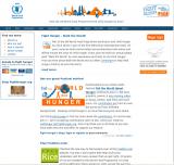 Fighthunger.org screenshot