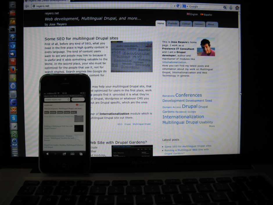 Building real Mobile Websites with Drupal | reyero net