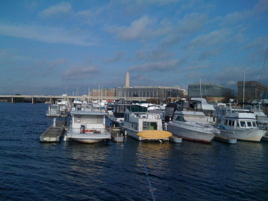 Picture of the marine in Washington DC Waterfront